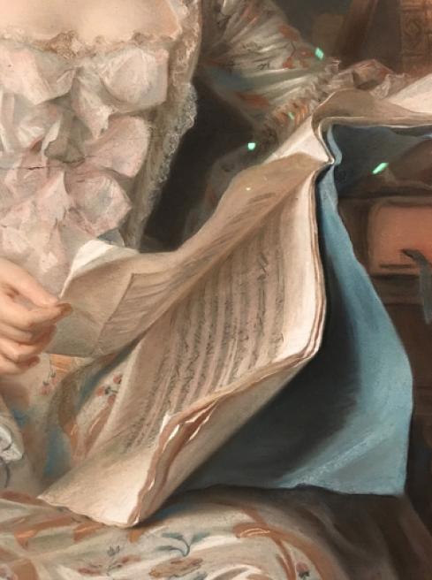 Exposition Pastels des XVII et XVIIIe siècles Louvre 2018 Captur33