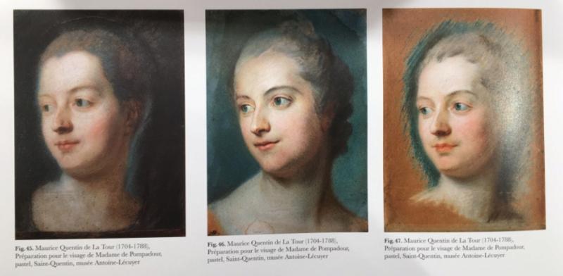 Exposition Pastels des XVII et XVIIIe siècles Louvre 2018 Captur34