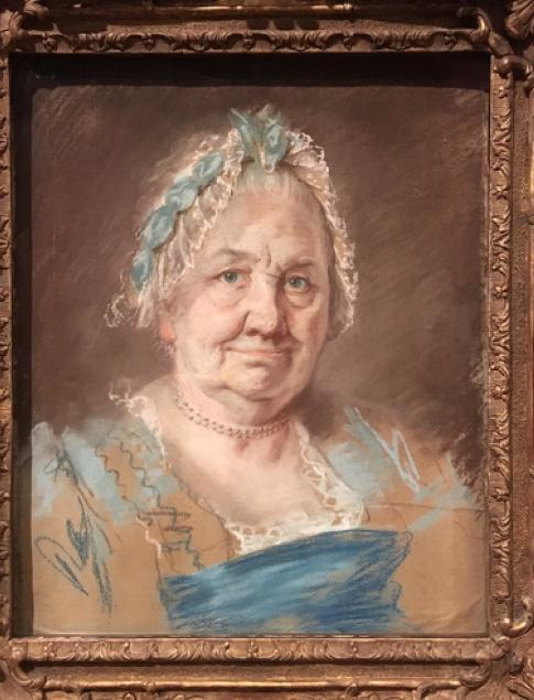 Exposition Pastels des XVII et XVIIIe siècles Louvre 2018 Captur36