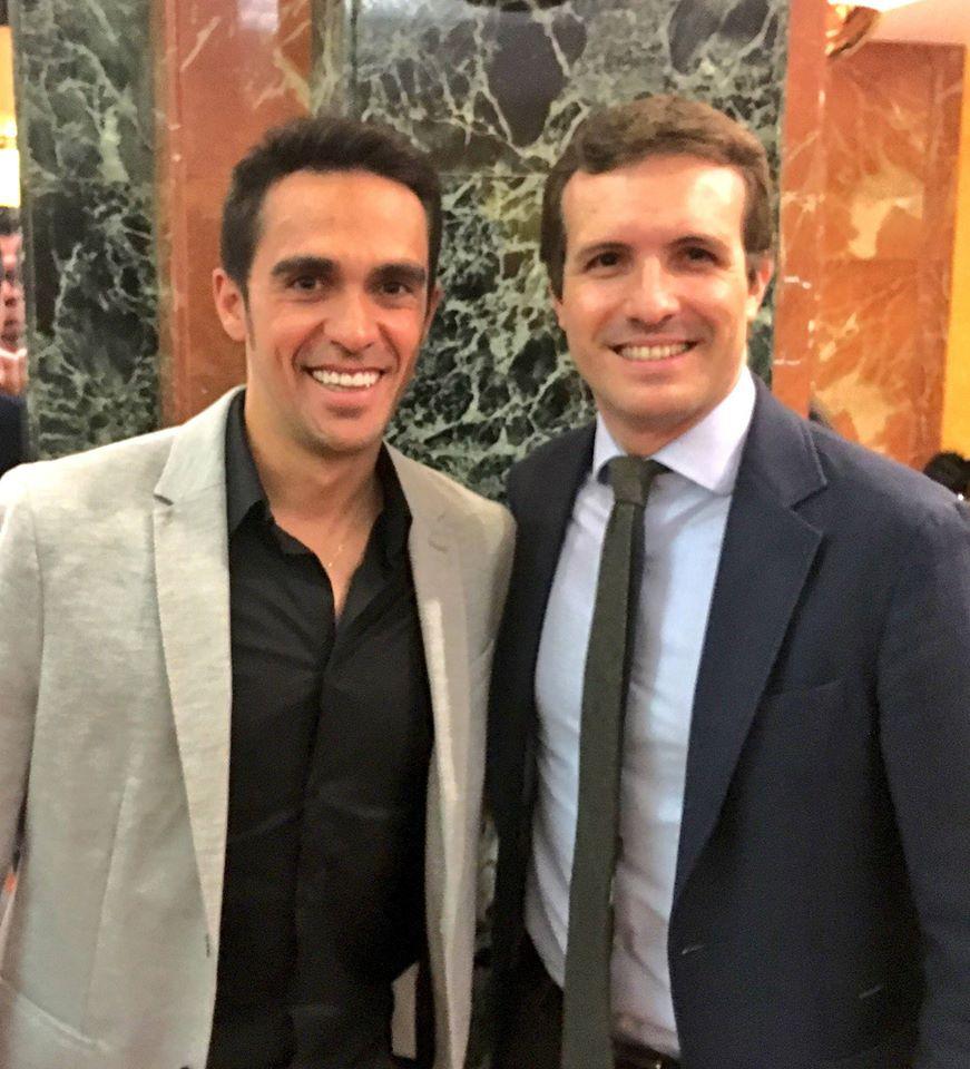 ¿Cuánto mide Alberto Contador? - Estatura y peso - Real height 24068810