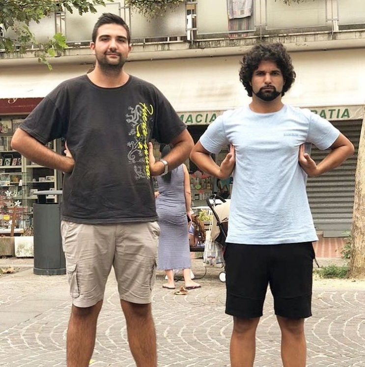 ¿Cuánto mide Mr Spartapraga (Antonio Fusco) - Altura - Real height Fdf19