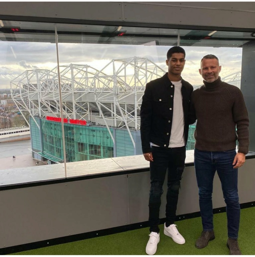 ¿Cuánto mide Marcus Rashford? - Altura - Real height Img_1098