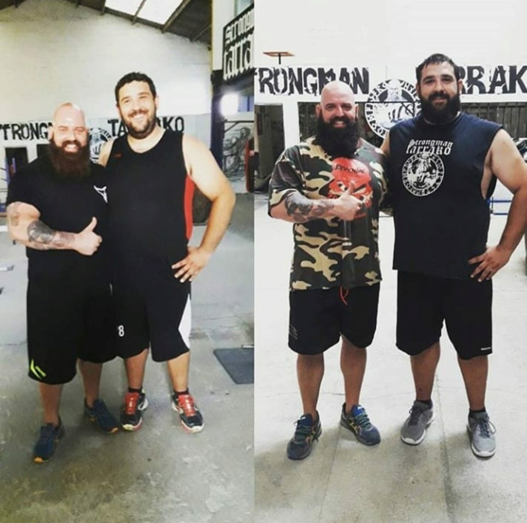¿Cuánto mide Strongman Tarrako? - Altura - Real height Img_1578