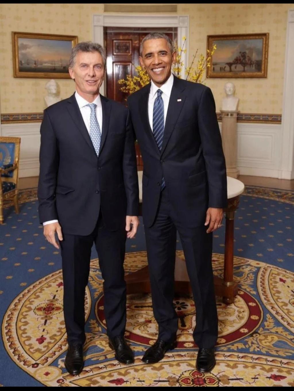 ¿Cuánto mide Mauricio Macri? - Altura - Real height Img_2189