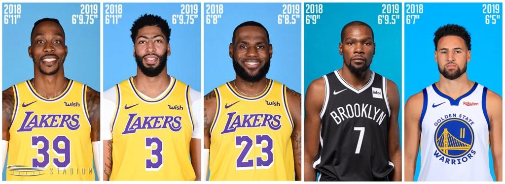 Altura real de jugadores de la NBA revelada 2019 2020 Img_2595