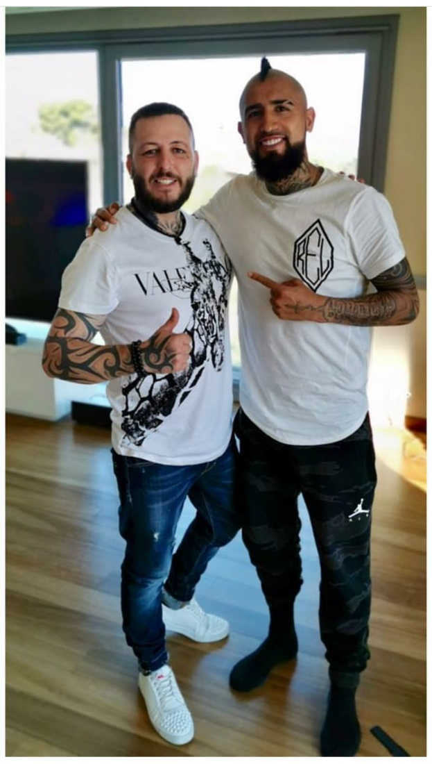 ¿Cuánto mide Arturo Vidal? - Altura - Real height Img_2924