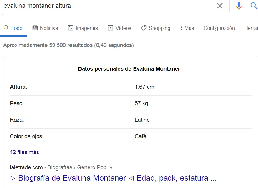 ¿Cuánto mide Evaluna Montaner? - Altura real: 1,46 - Real height Kk10