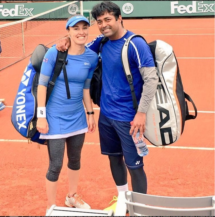 ¿Cuánto mide Martina Hingis? - Real height Leande10