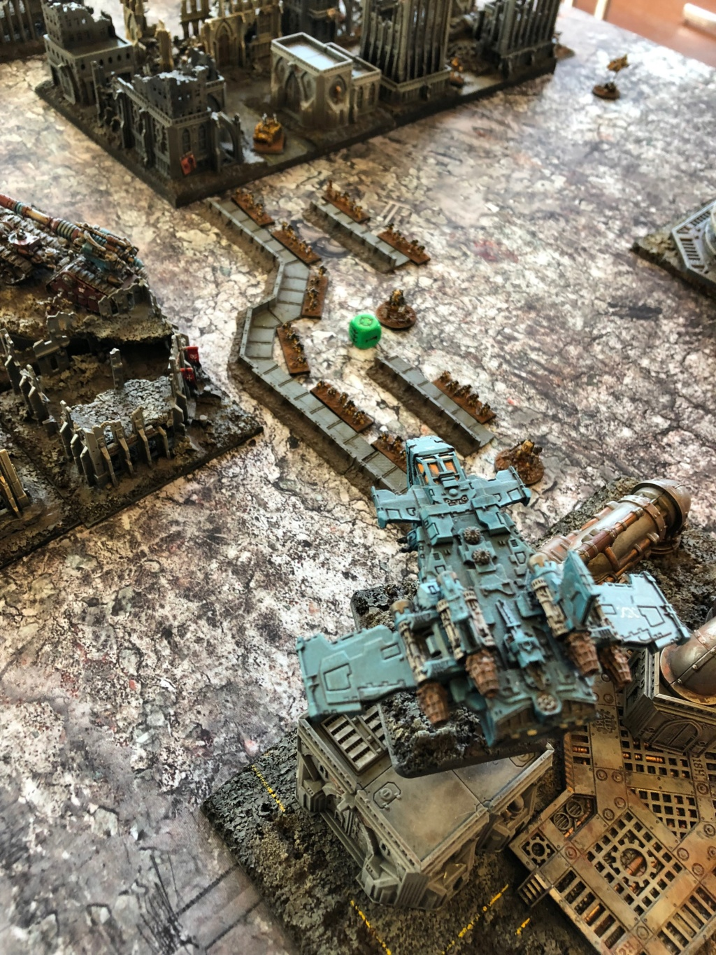 La Bataille de Tallarn Phase I: IF vs AL (x2) et IF vs IW Img_1111