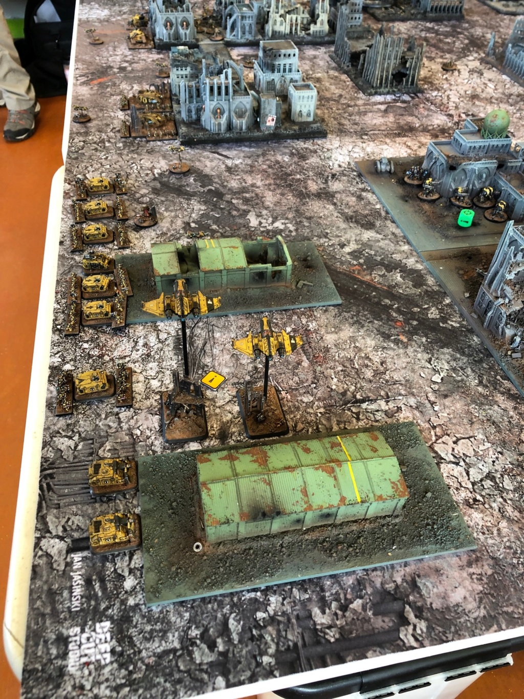 La Bataille de Tallarn Phase I: IF vs AL (x2) et IF vs IW Img_1115