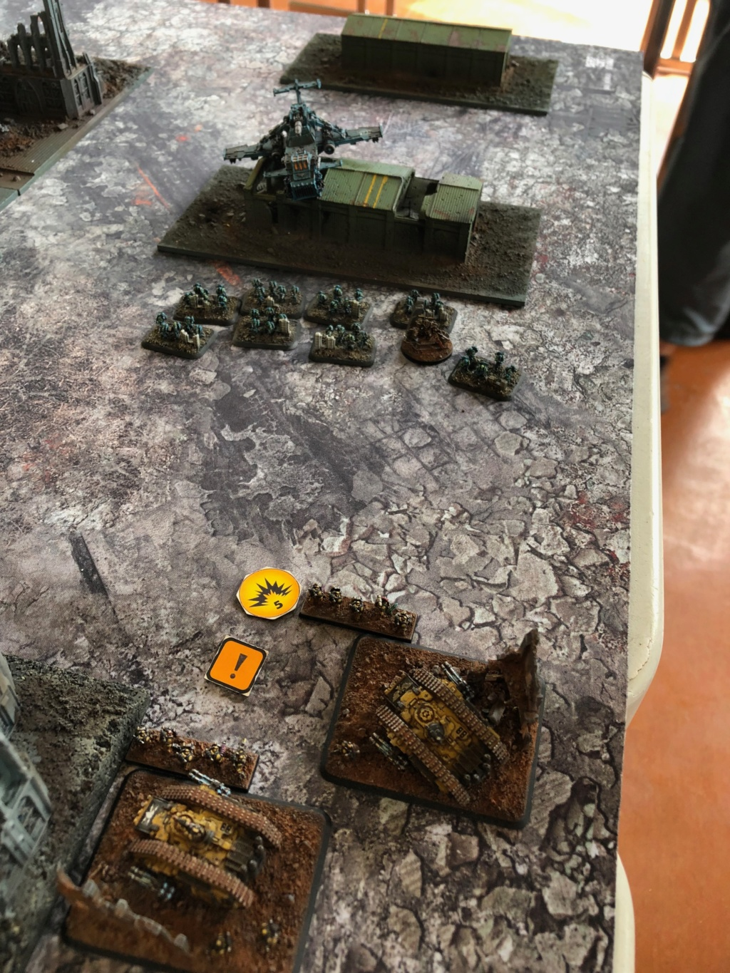La Bataille de Tallarn Phase I: IF vs AL (x2) et IF vs IW Img_1116