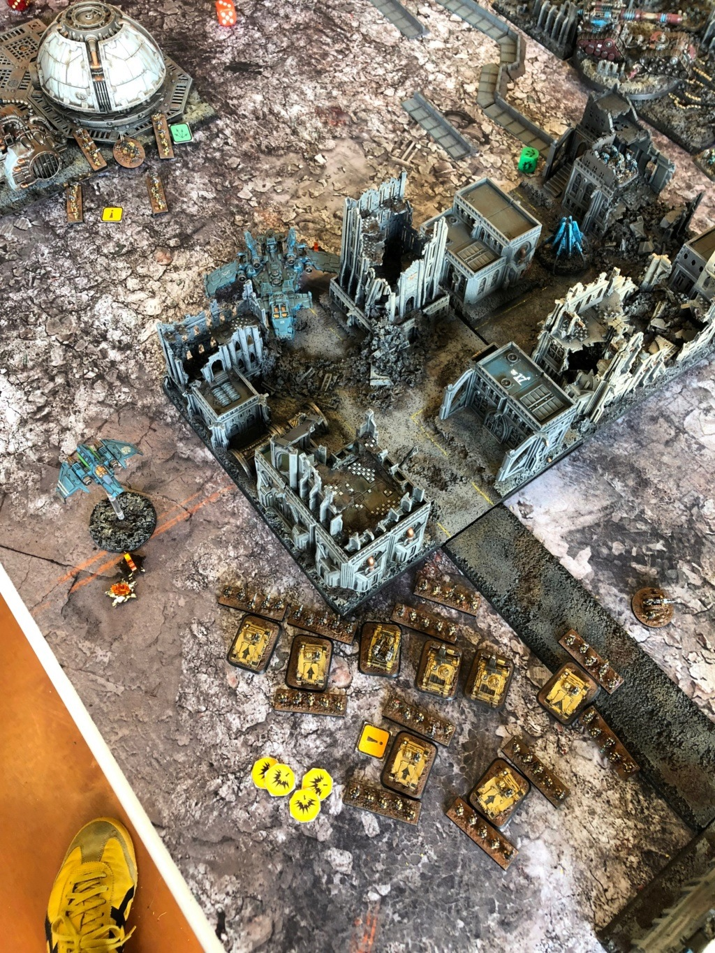 La Bataille de Tallarn Phase I: IF vs AL (x2) et IF vs IW Img_1118