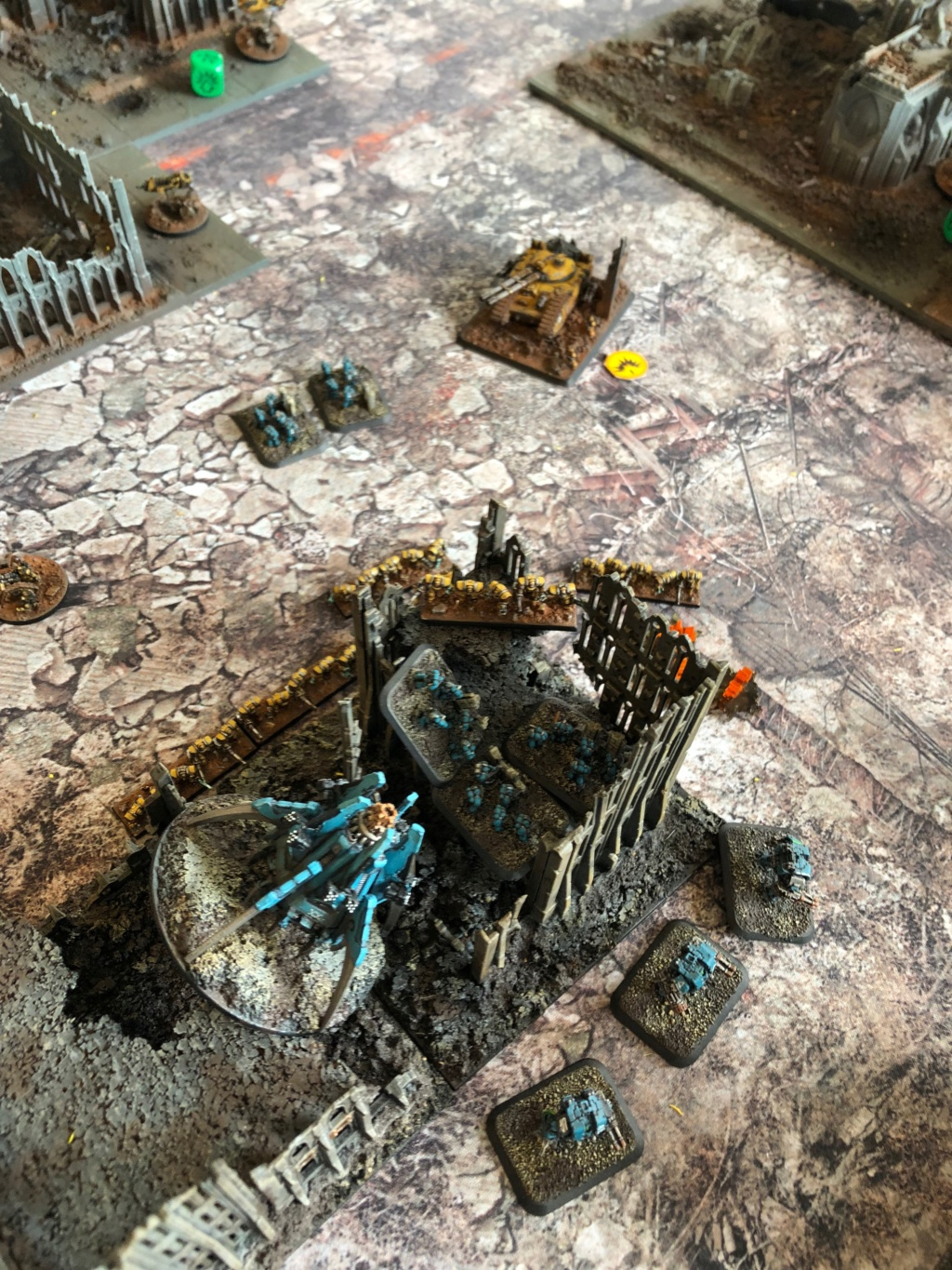 La Bataille de Tallarn Phase I: IF vs AL (x2) et IF vs IW Img_1119