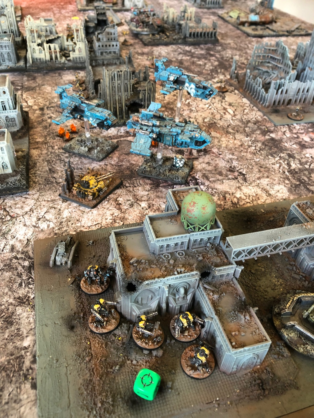 La Bataille de Tallarn Phase I: IF vs AL (x2) et IF vs IW Img_1124