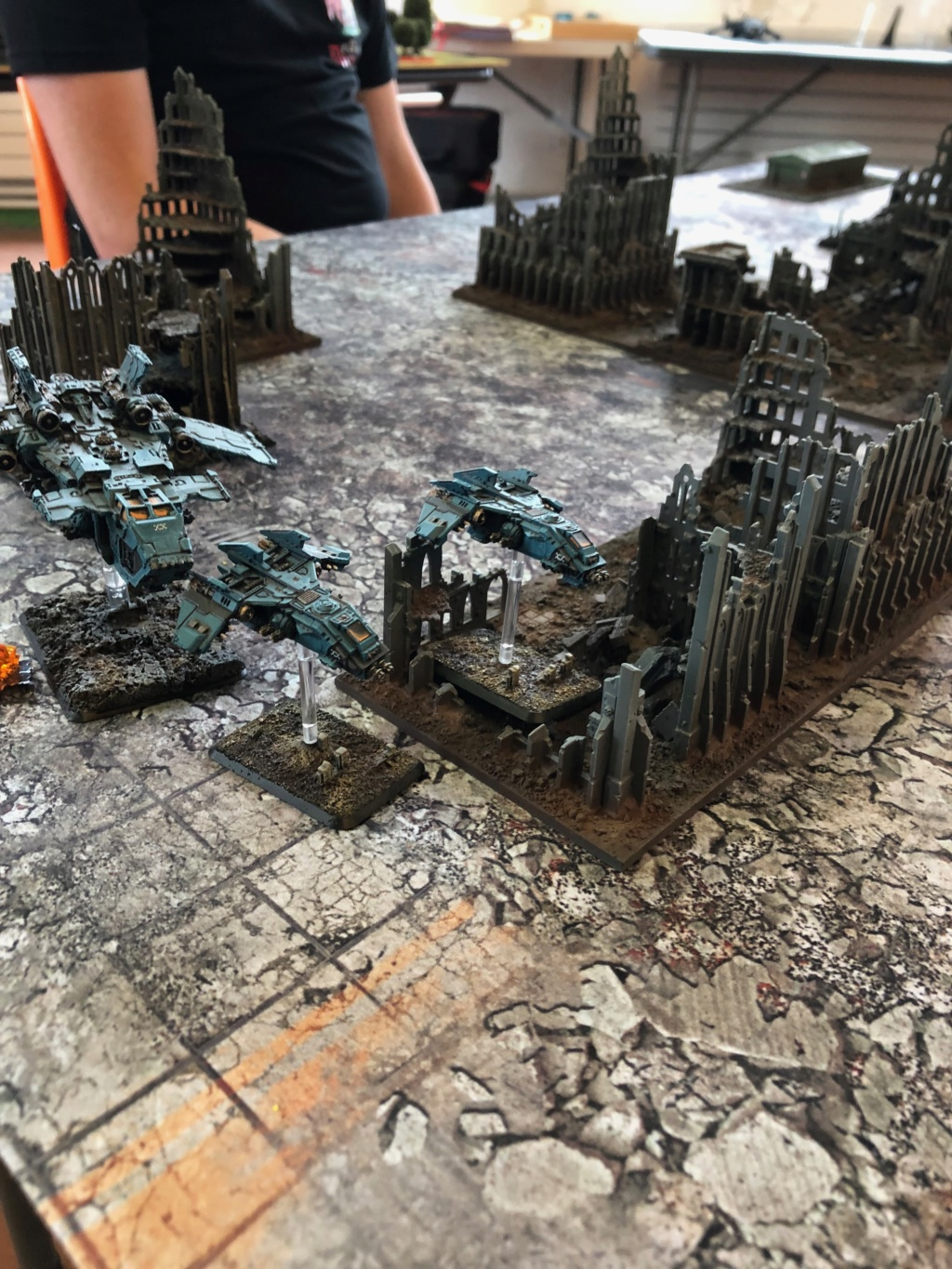 La Bataille de Tallarn Phase I: IF vs AL (x2) et IF vs IW Img_1125