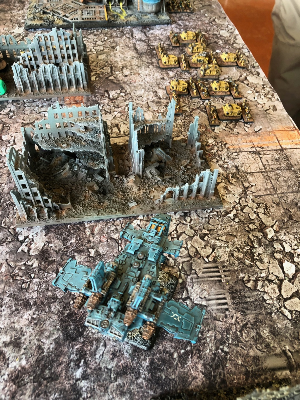 La Bataille de Tallarn Phase I: IF vs AL (x2) et IF vs IW Img_1126