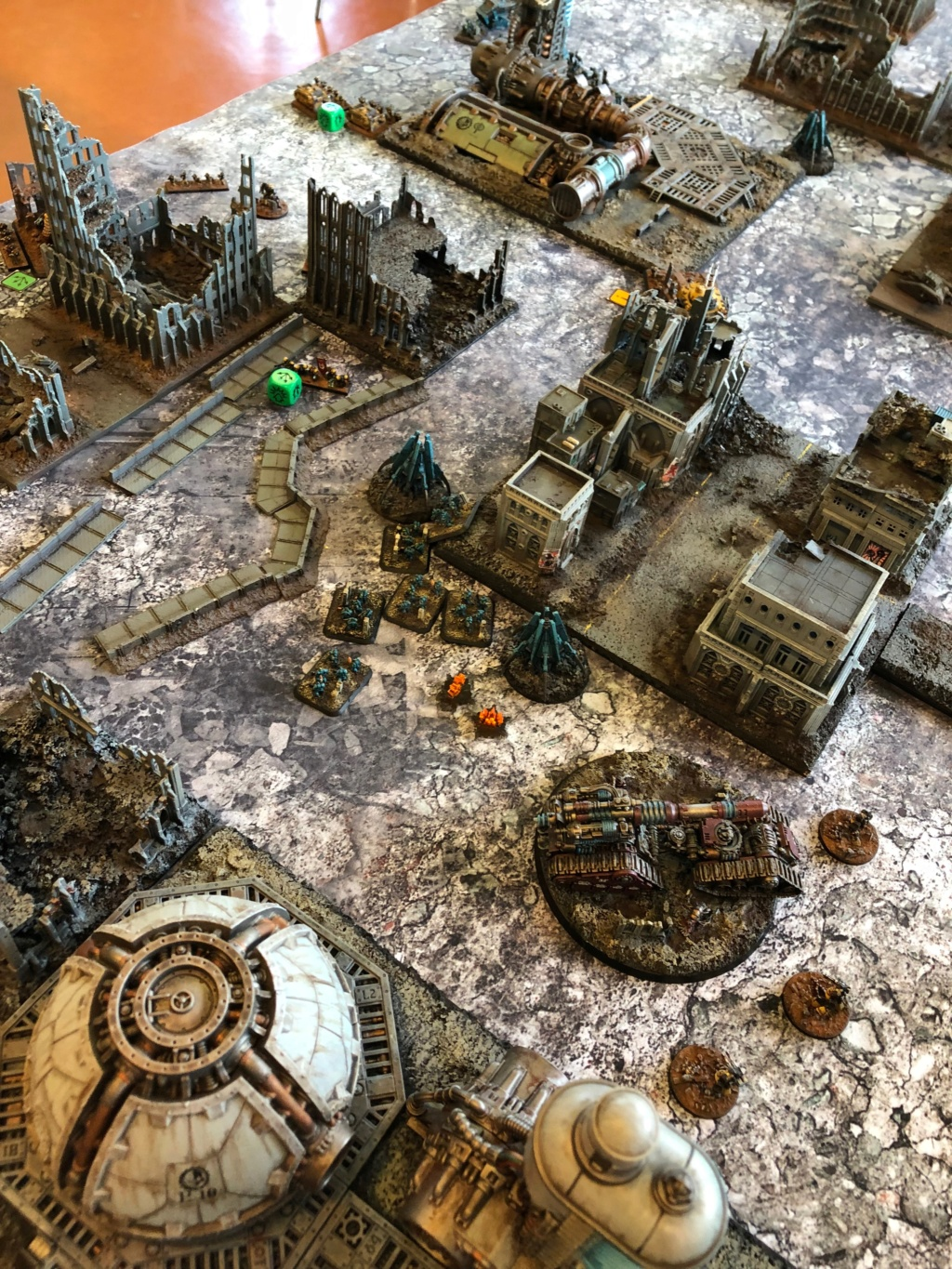La Bataille de Tallarn Phase I: IF vs AL (x2) et IF vs IW Img_1128