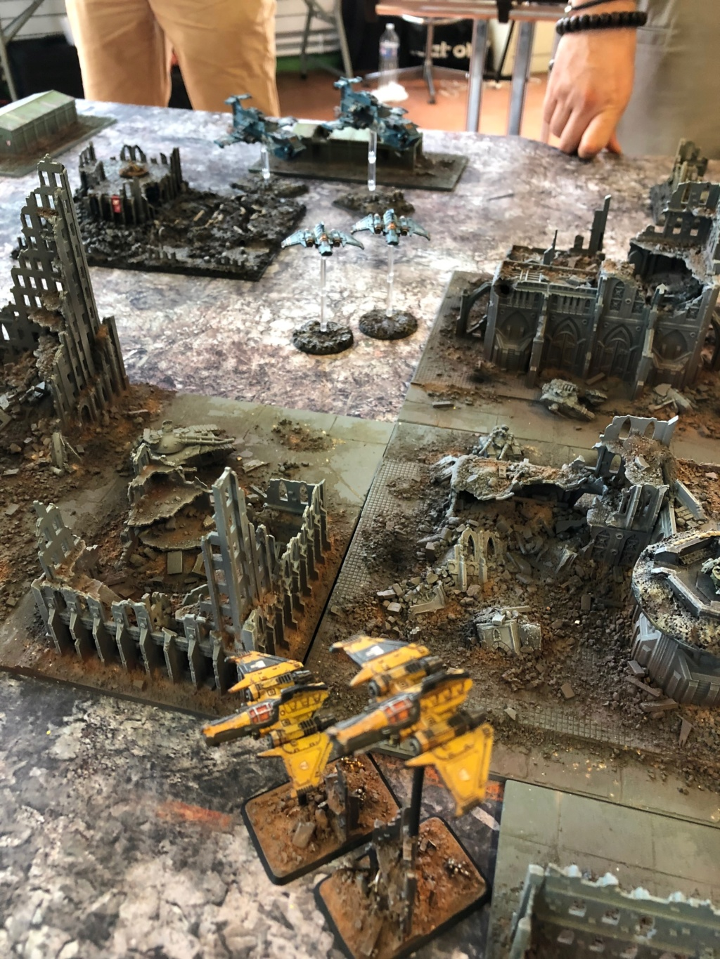 La Bataille de Tallarn Phase I: IF vs AL (x2) et IF vs IW Img_1131