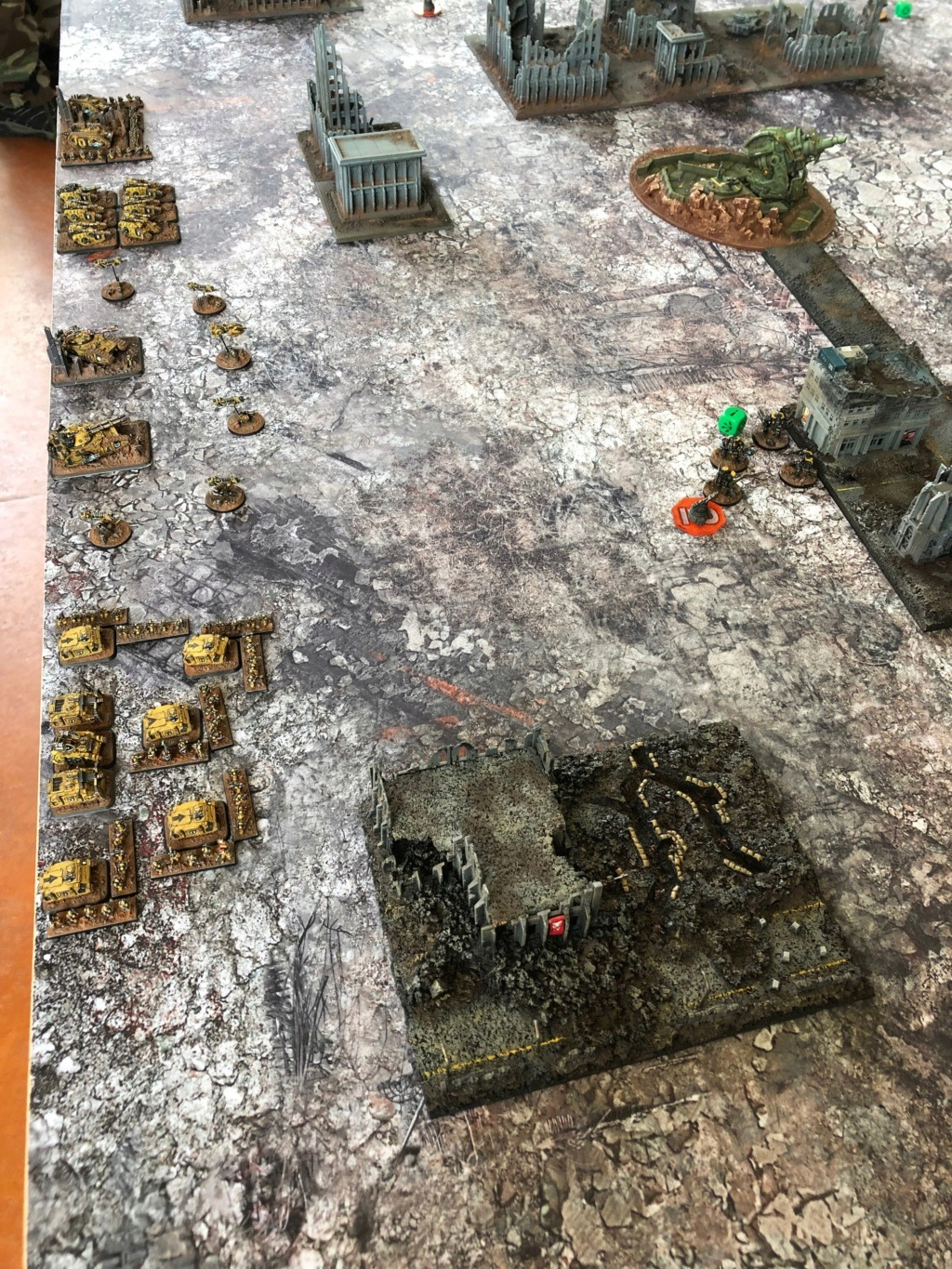 La Bataille de Tallarn Phase I: IF vs AL (x2) et IF vs IW Img_1133