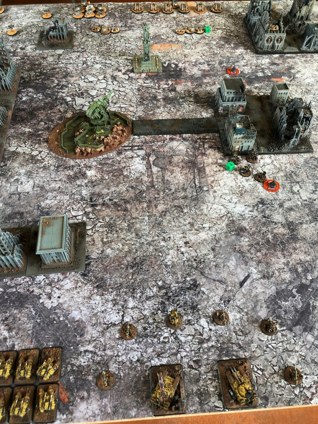 La Bataille de Tallarn Phase I: IF vs AL (x2) et IF vs IW Img_1134