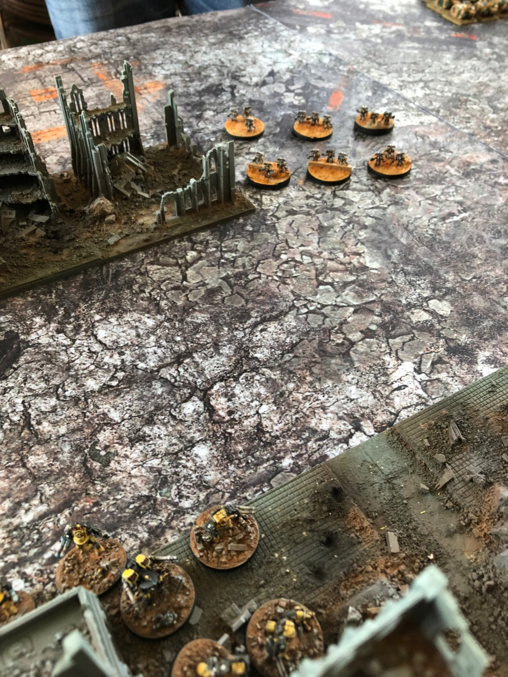 La Bataille de Tallarn Phase I: IF vs AL (x2) et IF vs IW Img_1135