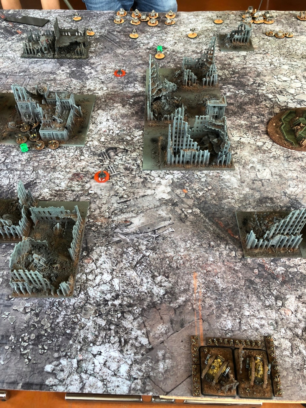 La Bataille de Tallarn Phase I: IF vs AL (x2) et IF vs IW Img_1136