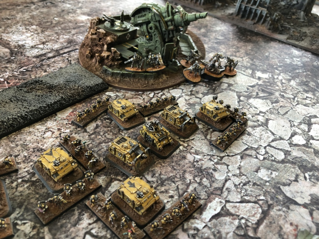 La Bataille de Tallarn Phase I: IF vs AL (x2) et IF vs IW Img_1142