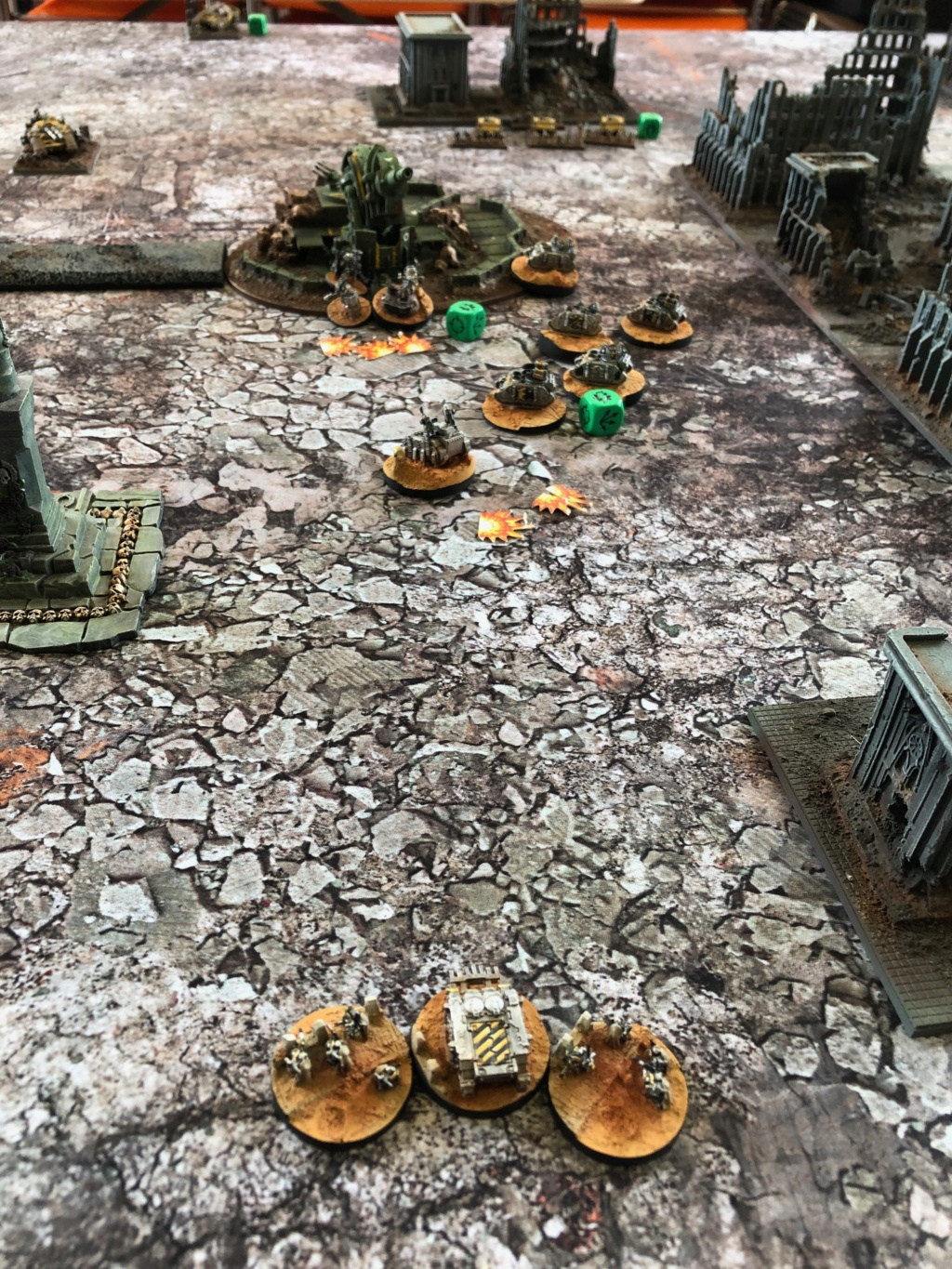 La Bataille de Tallarn Phase I: IF vs AL (x2) et IF vs IW Img_1145