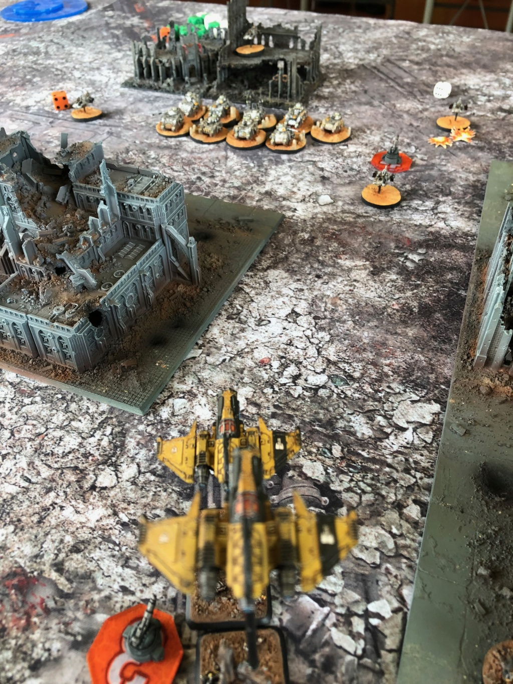 La Bataille de Tallarn Phase I: IF vs AL (x2) et IF vs IW Img_1146