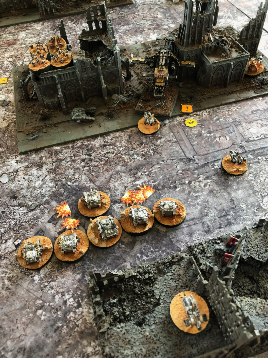 La Bataille de Tallarn Phase I: IF vs AL (x2) et IF vs IW Img_1215