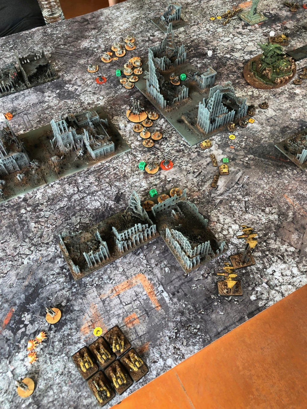 La Bataille de Tallarn Phase I: IF vs AL (x2) et IF vs IW Img_1219