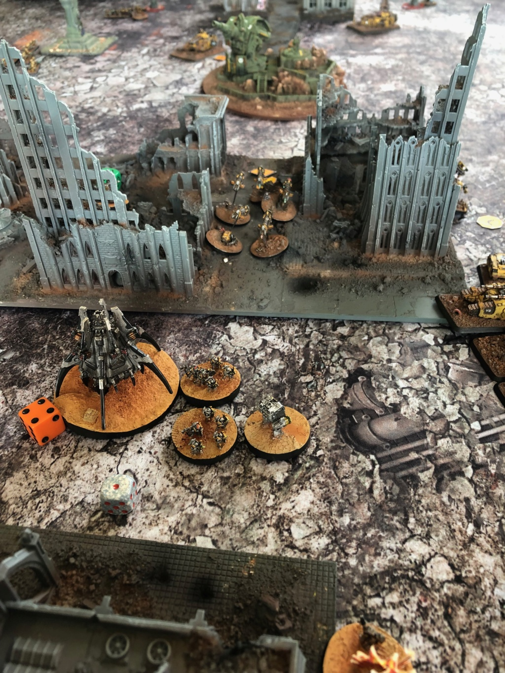 La Bataille de Tallarn Phase I: IF vs AL (x2) et IF vs IW Img_1220