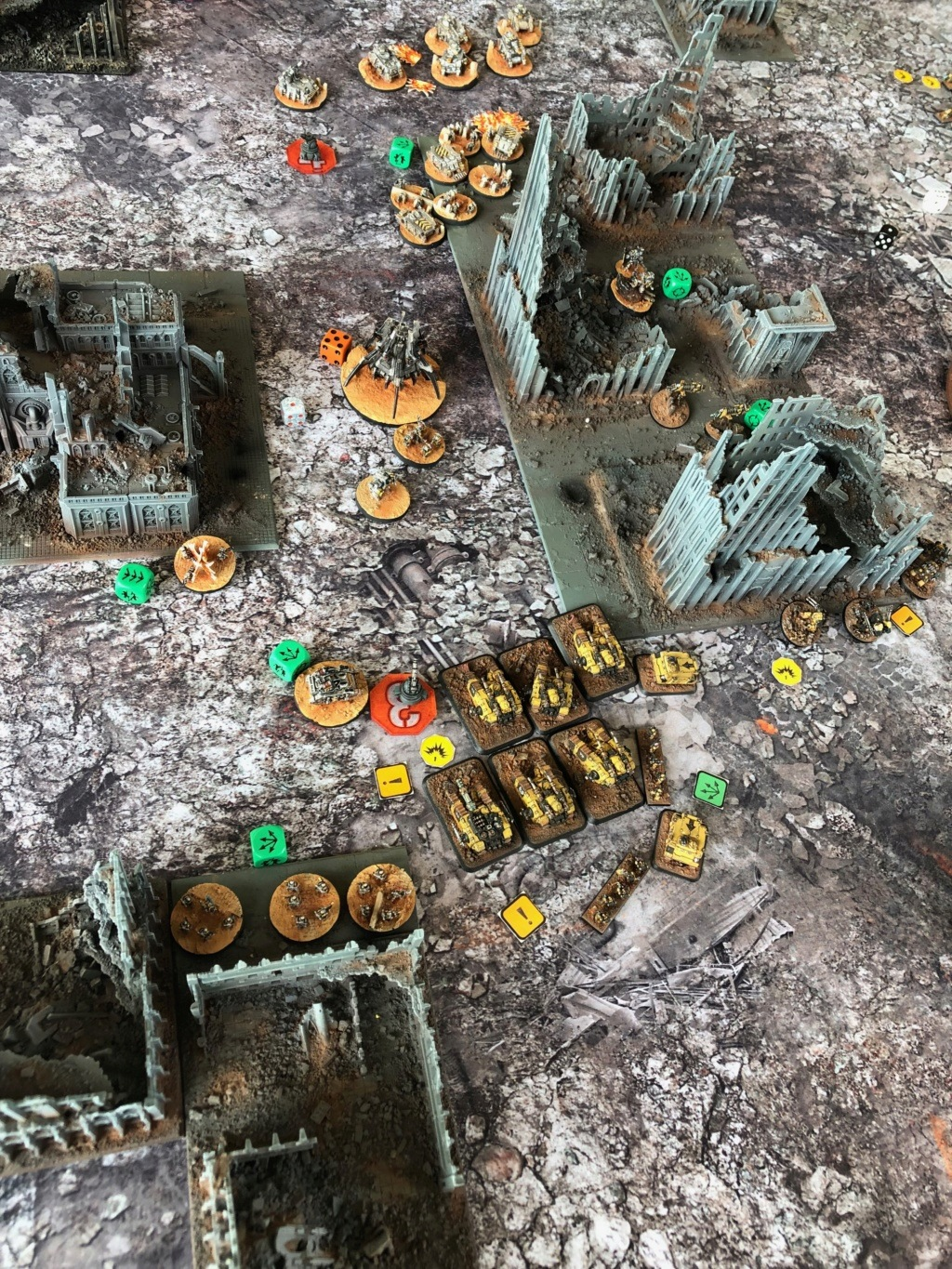 La Bataille de Tallarn Phase I: IF vs AL (x2) et IF vs IW Img_1222