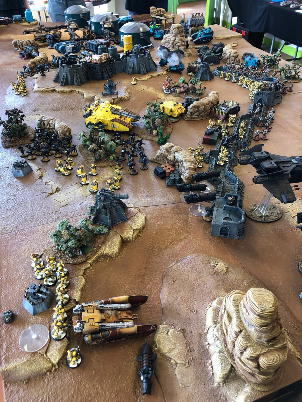 La Bataille de Tallarn Phase I: IF vs AL (x2) et IF vs IW Img_1227