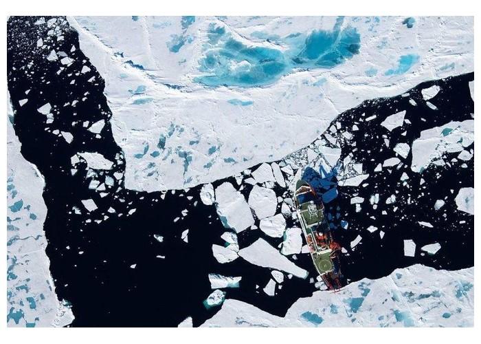 L'inquiétante pollution plastique des régions polaires P16
