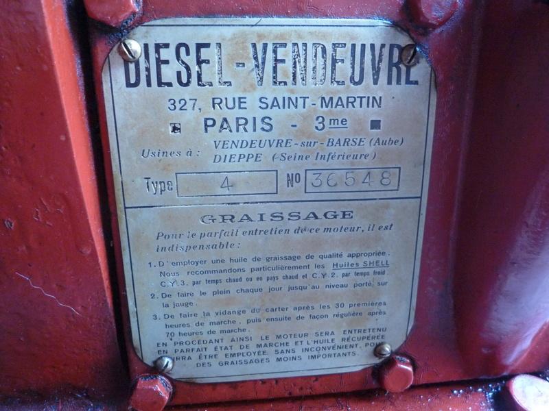 Recherche informations Moteur Fixe Diesel Vendeuvre Type 4 P1150819