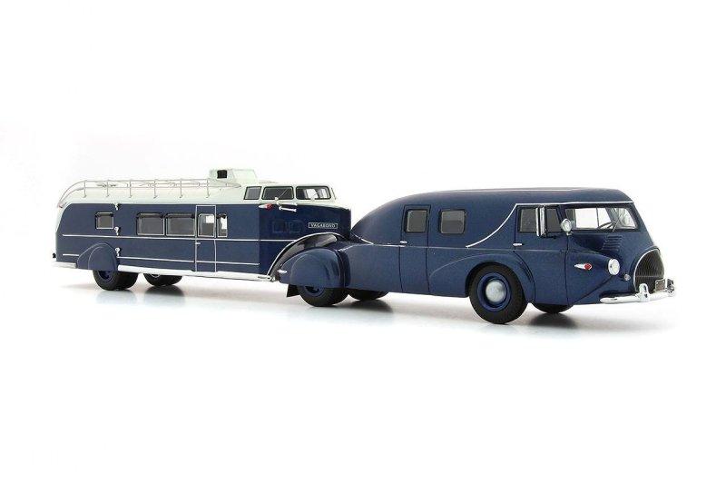 REO Truck mit Curtiss Aerocar 1/43 Ac_11011