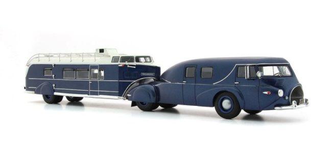 REO Truck mit Curtiss Aerocar 1/43 Ac_11012