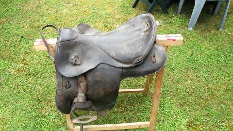 Selle allemande ww1, sac supérieure modèle 1935.... 15281916