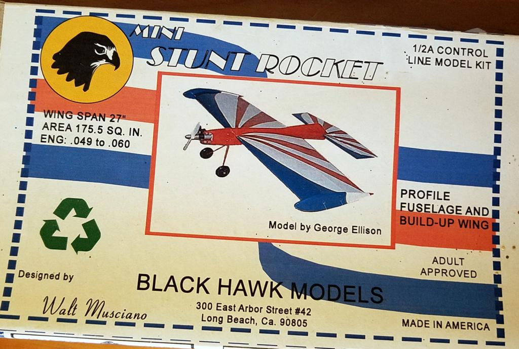 For Sale- NIB Blackhawk Musciano Mini Stunt Rocket Kit Msr110