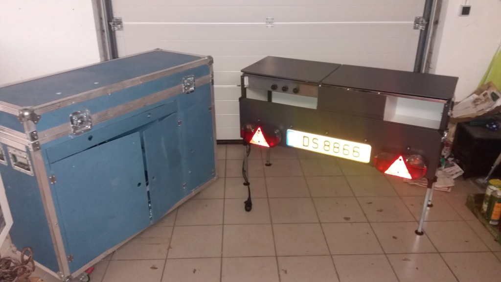"""Cuisine """"customisée"""" et meuble frigo 20200111"""