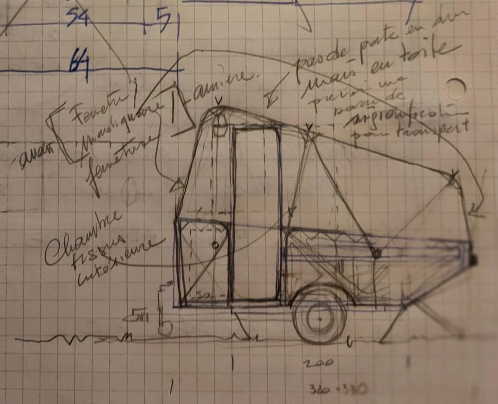 Week-end for 2: projet mini caravane... Img20230
