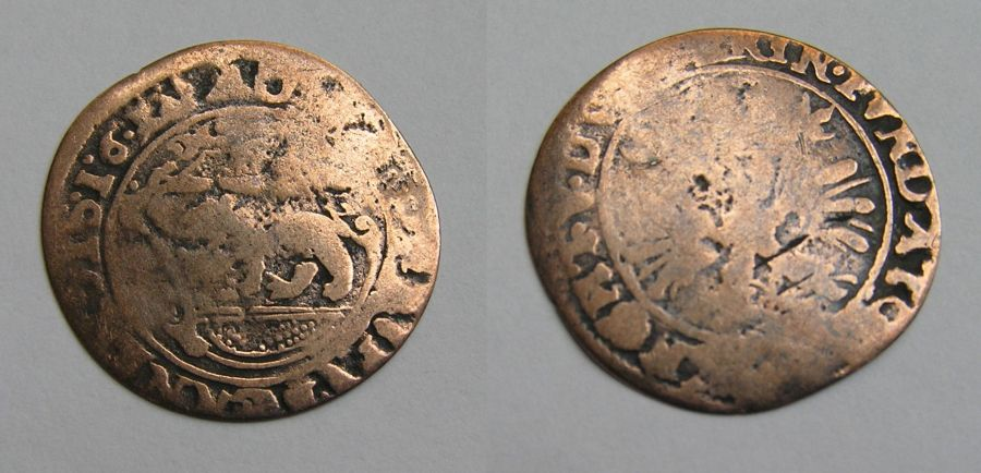 Monnaie du Brabant - Pays Bas espagnols 16XX ?  Braban10