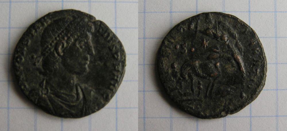 Majorina réduite de Constantius II - FEL TEMP REPARATIO Consta10