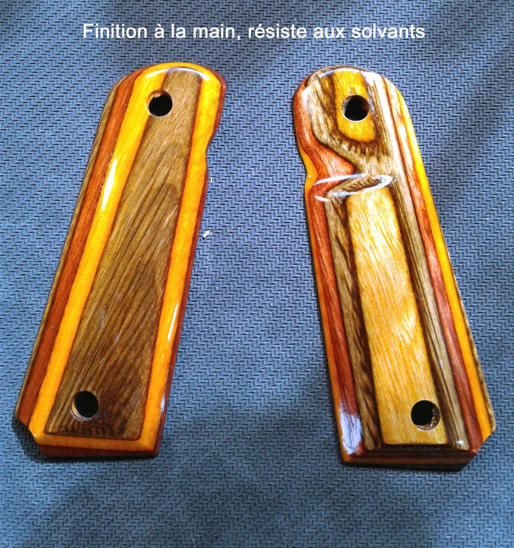 Grips de 1911 en bois exotique et Laminée 1911_p11