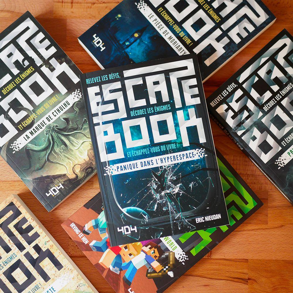 Escape Book 06 - Panique dans l'Hyperespace Hypere10