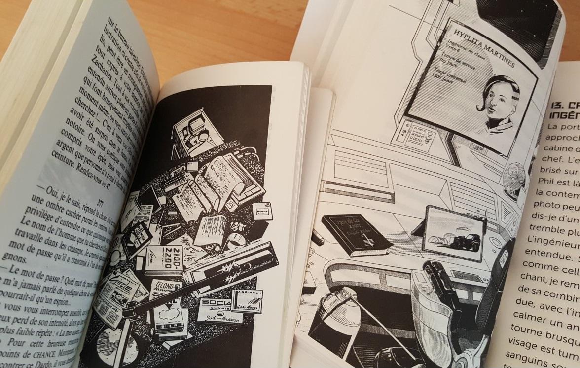 Escape Book 06 - Panique dans l'Hyperespace Hypere11