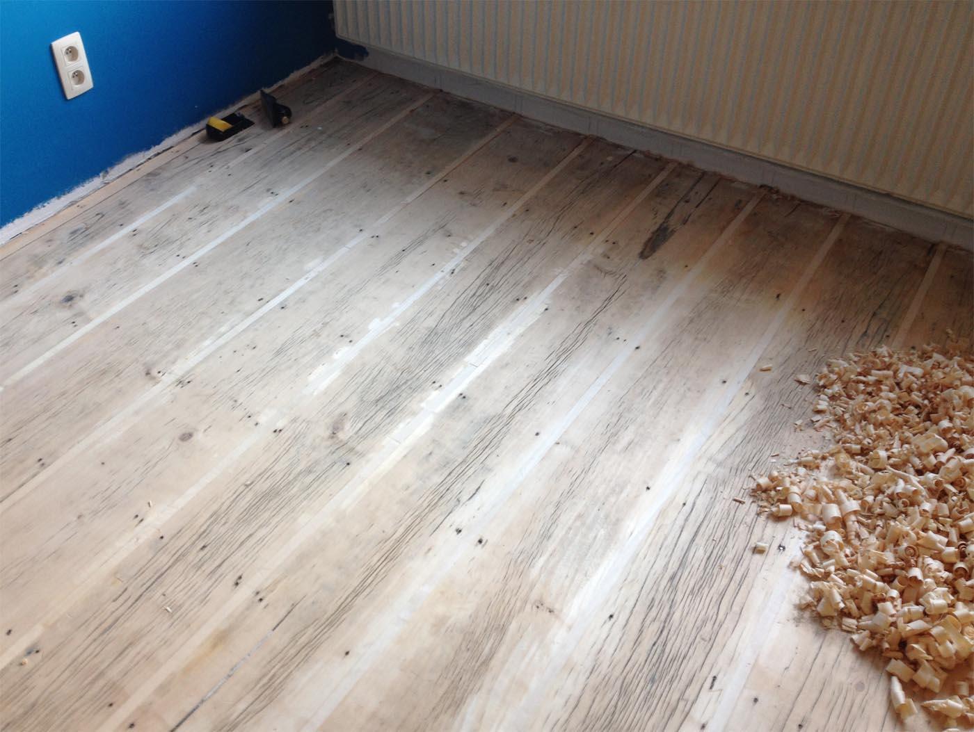 On avait voulu conserver le plancher. Pl0811