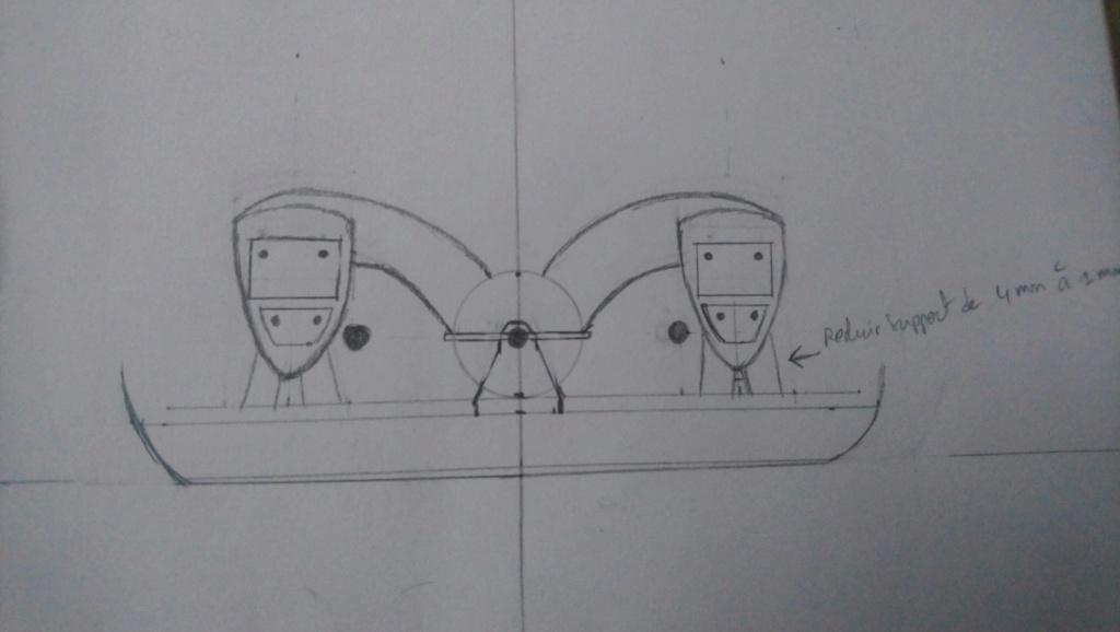 Projet salle des machines du Titanic au 1/200 FINI  Img_1435