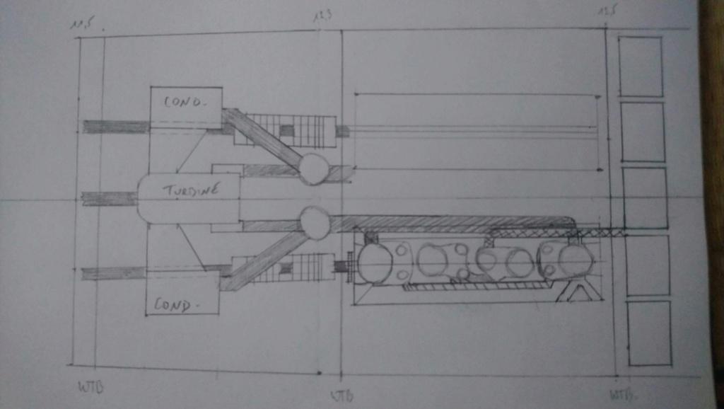 Projet salle des machines du Titanic au 1/200 FINI  Img_1436